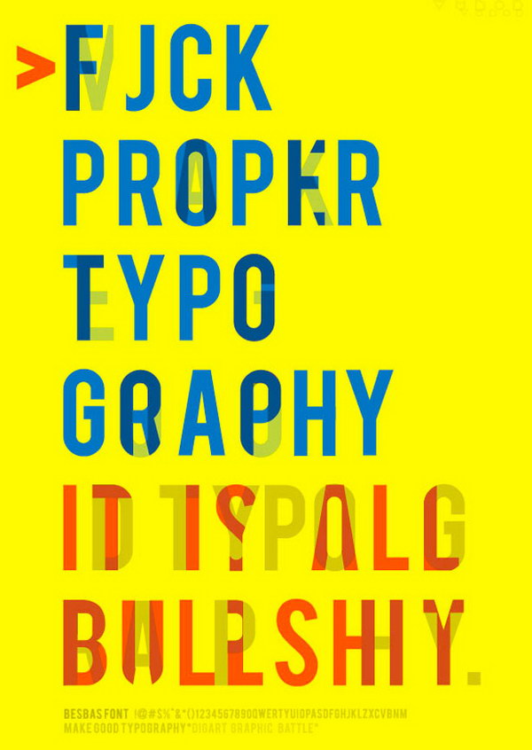 make good typography poster 16