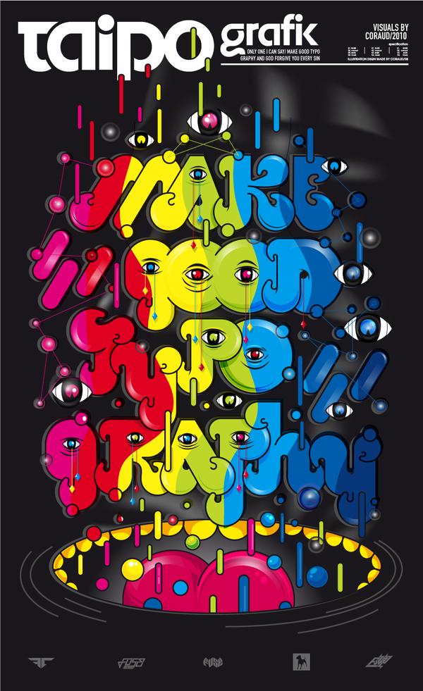 taipo grafik typographic poster 42