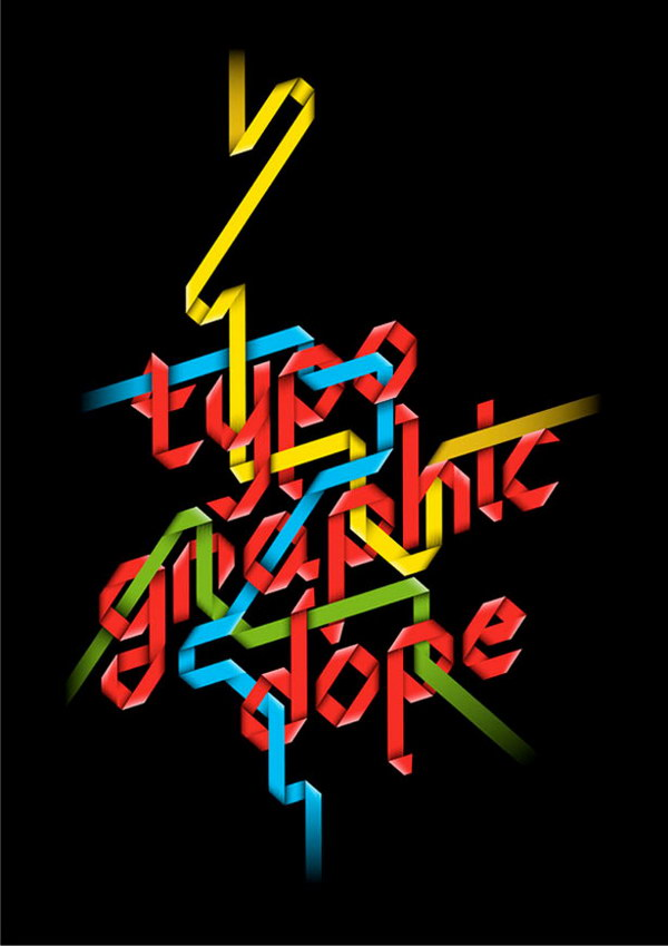 typography dope poster 3