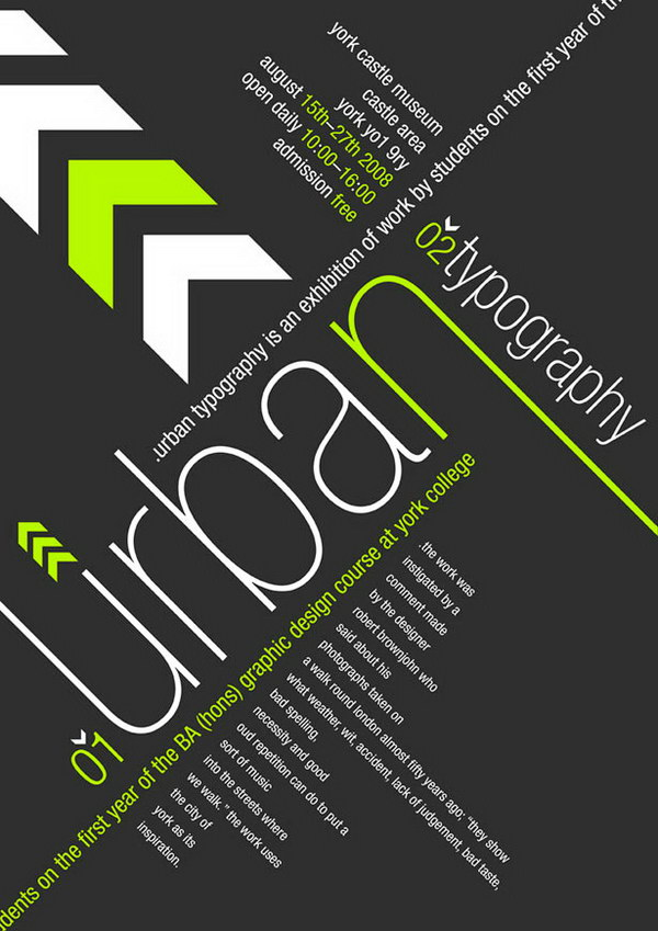 urban typography poster 17