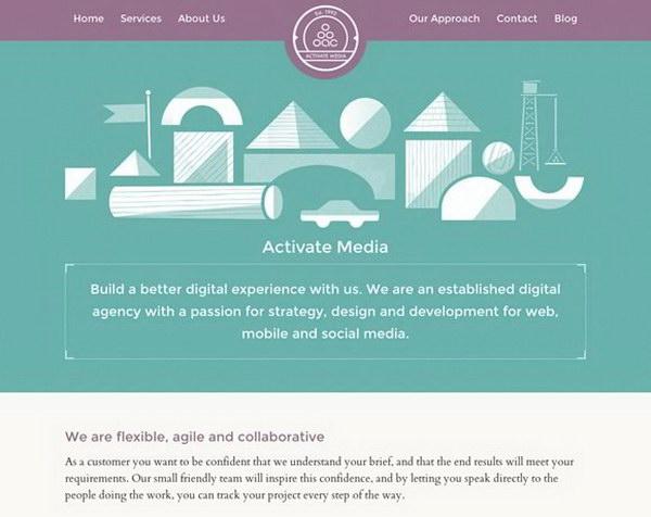illustrated web design 19