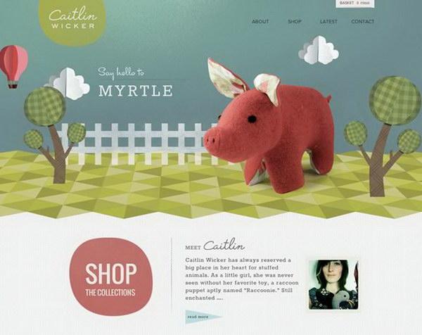 illustrated web design 20