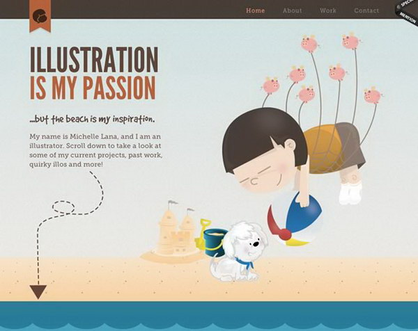 illustrated web design 21