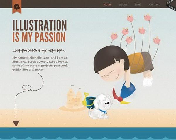 illustrated web design 21