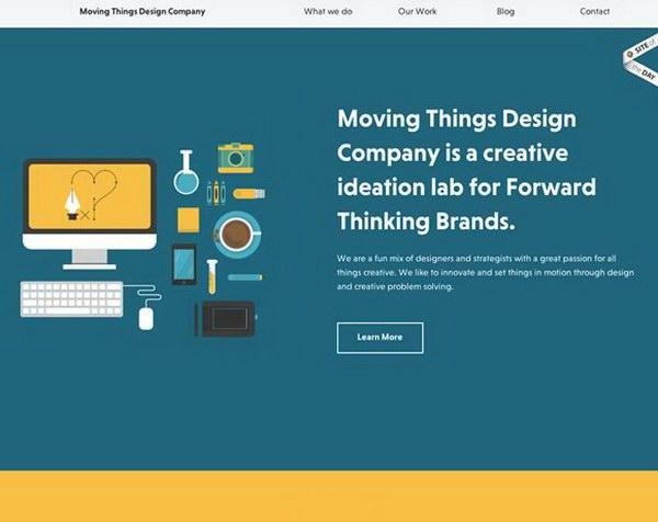 illustrated websites 16
