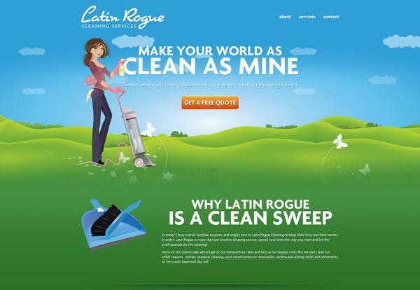 illustration website design 36
