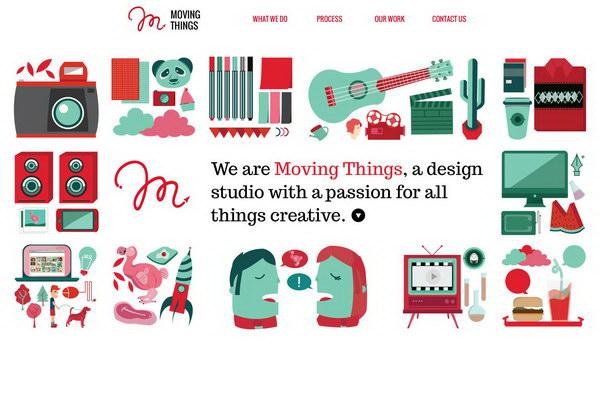 illustration website design 41