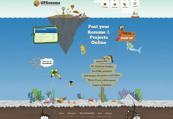 illustration website design 42