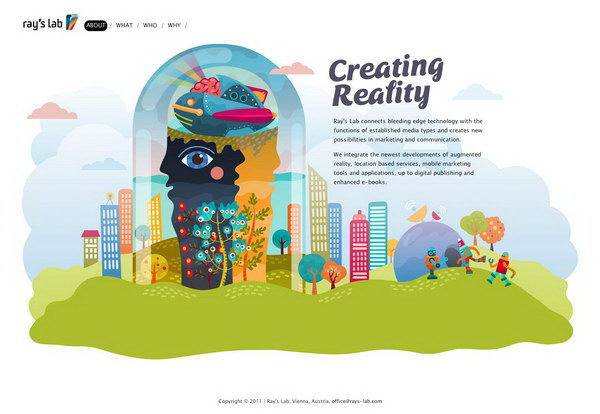 illustration website design 43