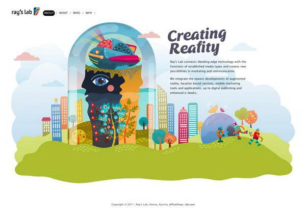 illustration website design 43