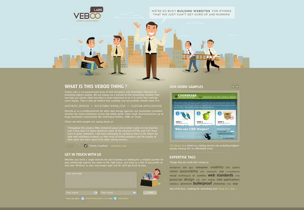 illustration website design 46