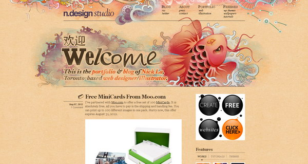 illustration website design 49