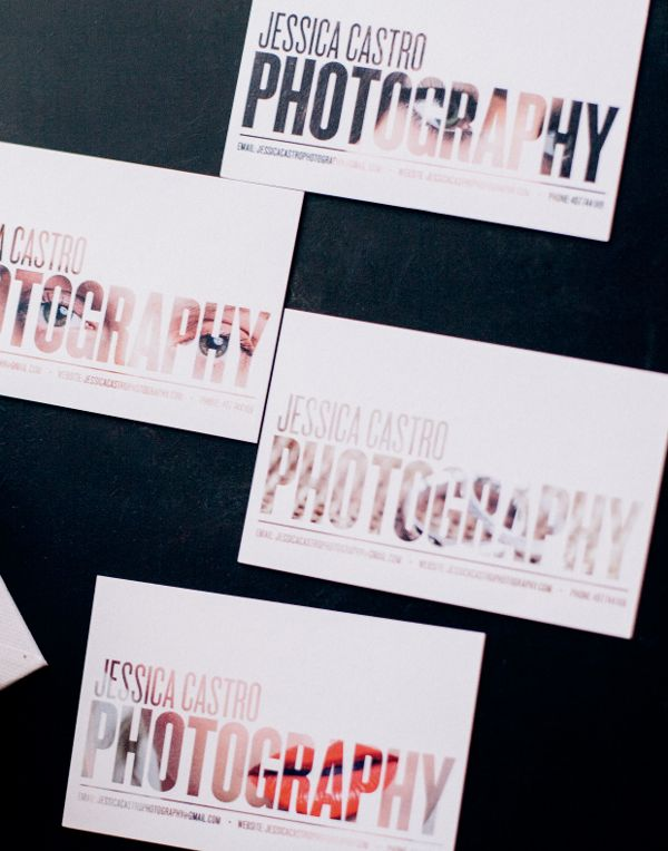 photo business cards 25