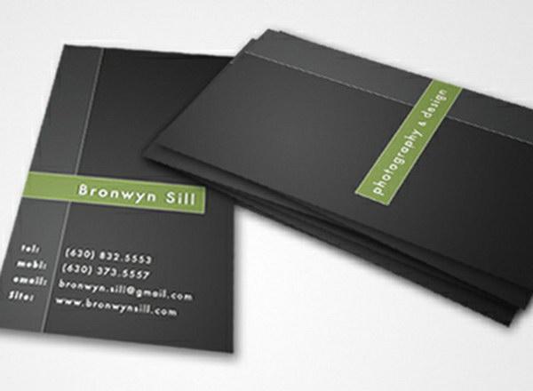 photographer business card designs 15