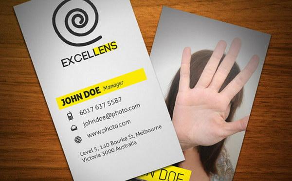 photographer business card designs 17