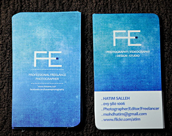 photography business card designs 2