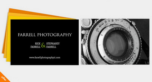 photography business card designs 7
