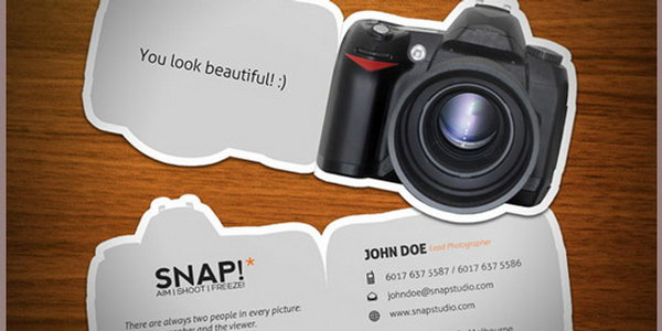 photography business card designs 8