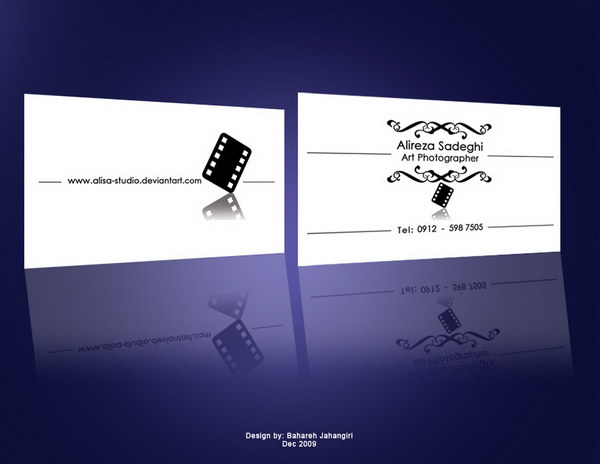 photography business cards 49