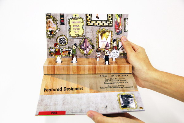 3d brochure design - 30 cool 3d pop up brochure design ideas 2017