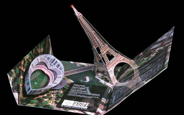 3d pop up paris brochure 2