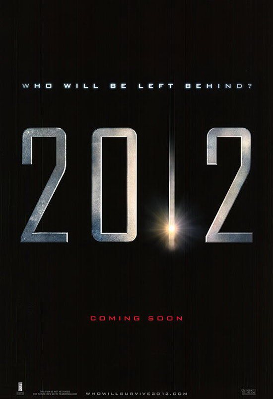 2012 typography movie poster 11