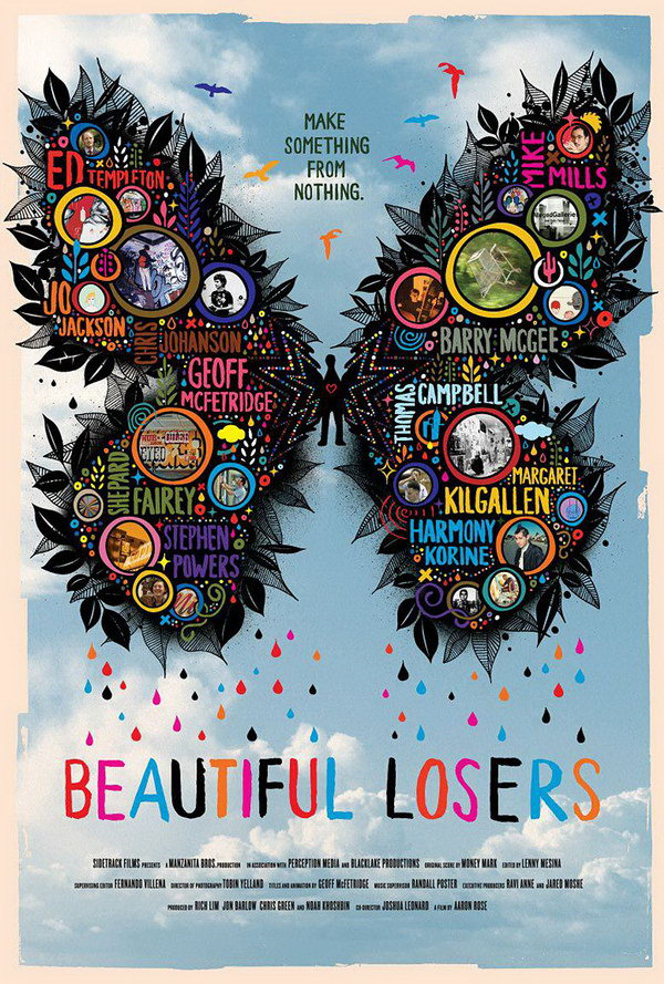 beautiful losers typography poster 3