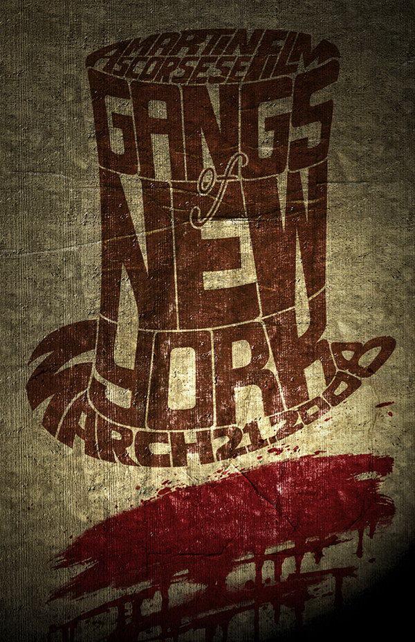 gangs of new york movie poster 26
