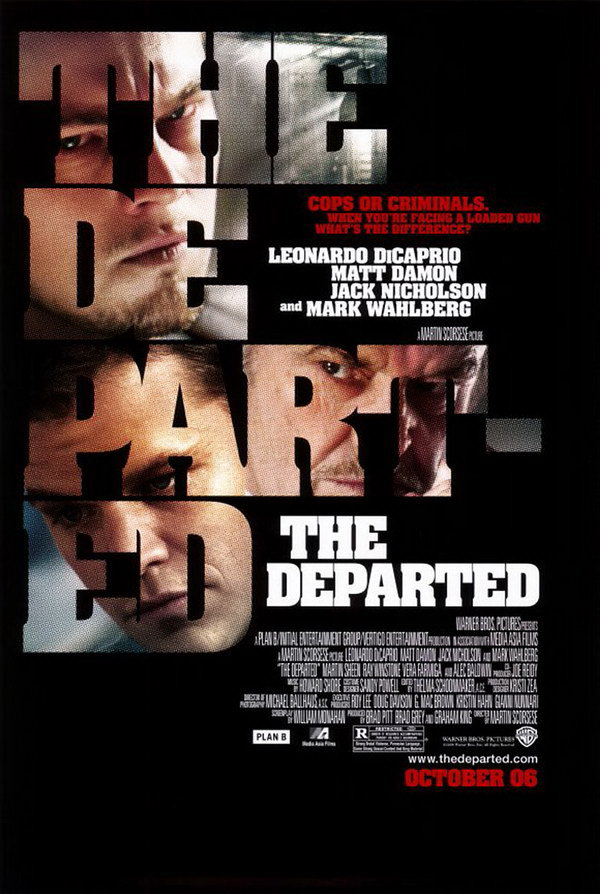 the departed typography poster 27