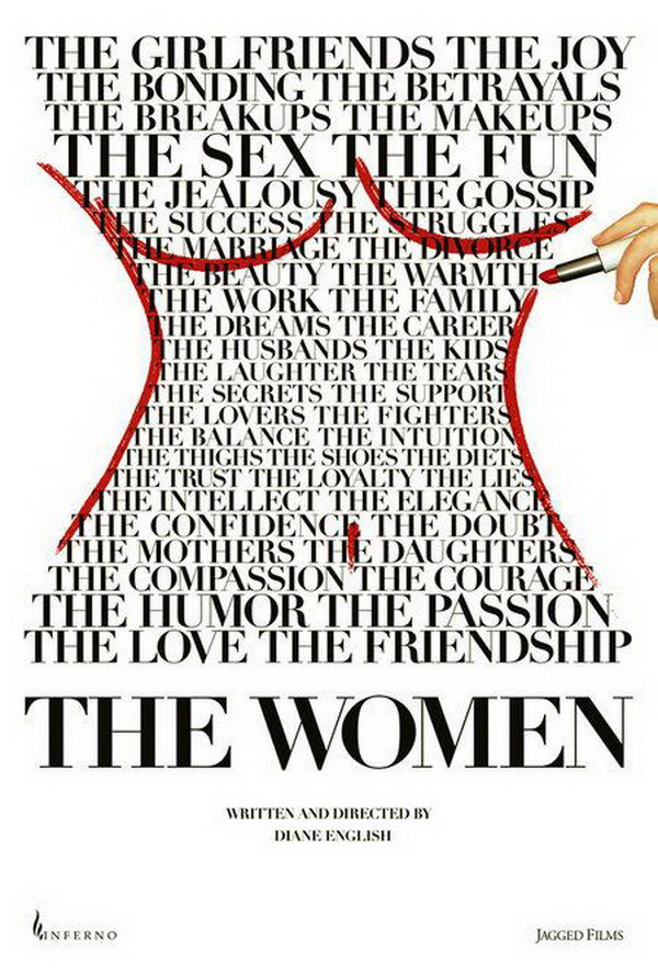 the women typography movie poster 5