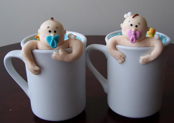 baby shower cupcake decor 35