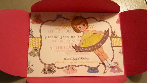paper doll baby shower for girl 47