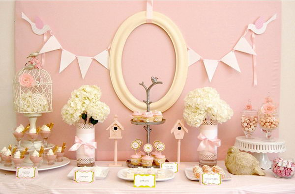 40 cute baby shower decoration ideas 2017