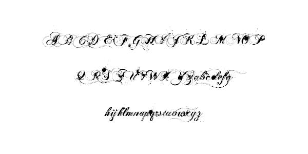 ginga cursive font 25