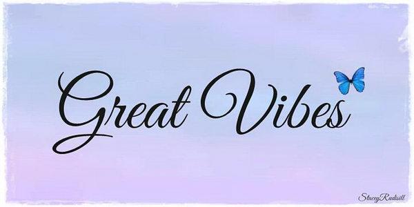 great vibes cursive font 34