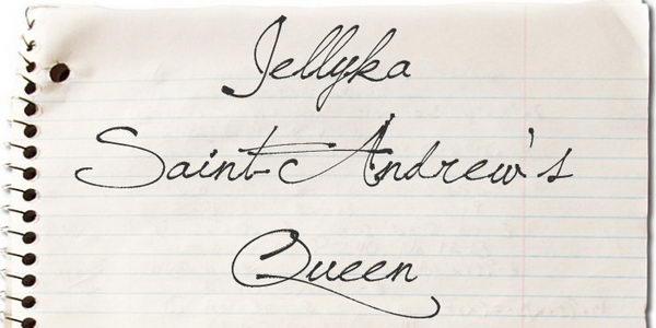 jellyka saint cursive font 1