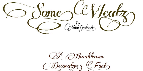 some weatz font 28