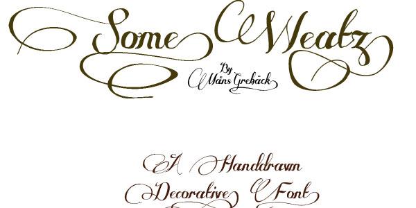 some weatz font 28