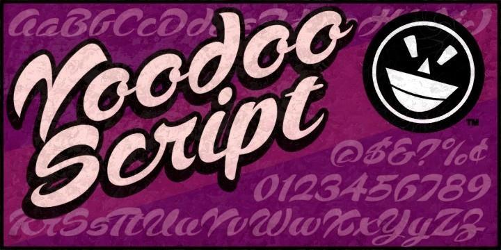 voodoo script tattoo font 30