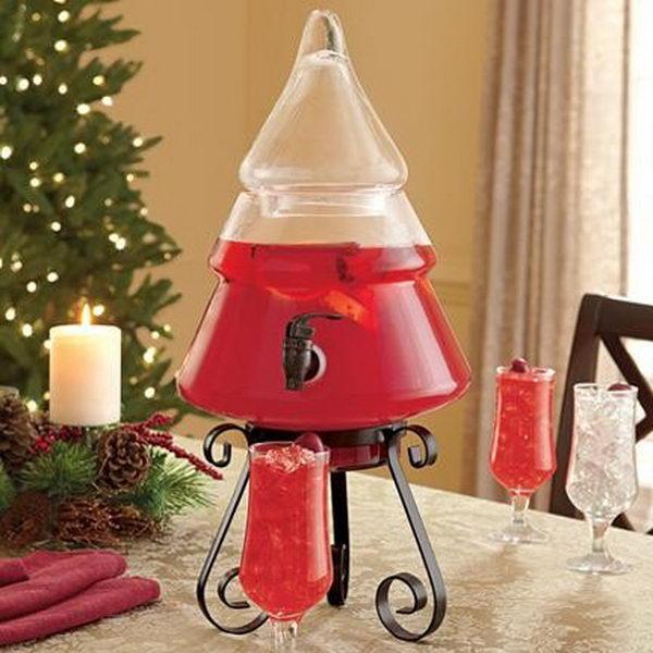 christmas tree beverage dispenser 26