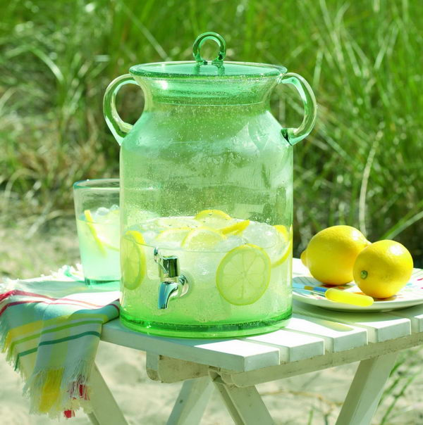 vintage jar drink dispenser 9