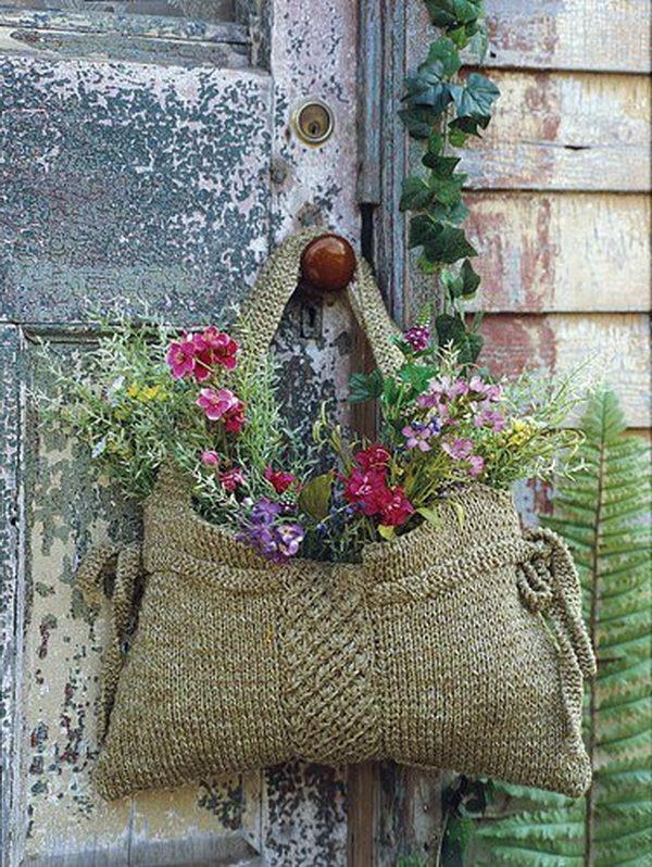 unique flowers idea in bag 13