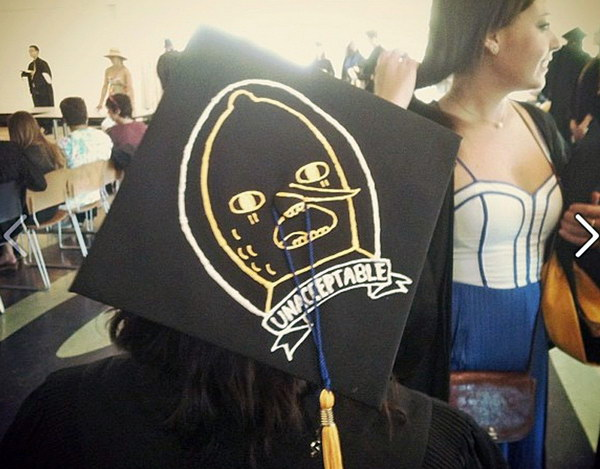 graduation cap decoration idea 42