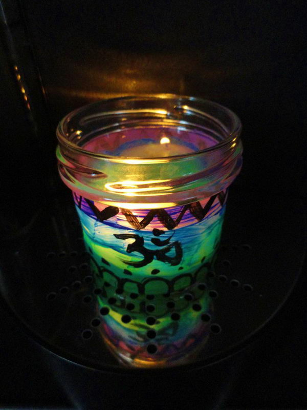 candle light mason jar 6