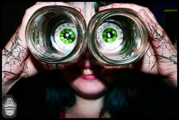 eyeball mason jars craft 24