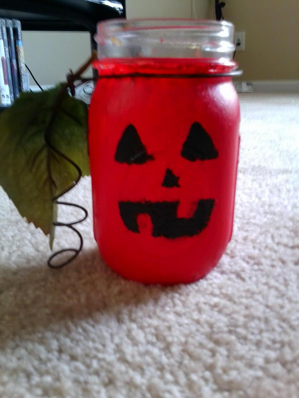 mason jar craft halloween 19