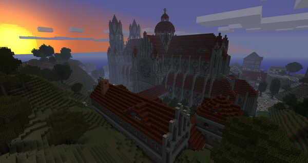 cathedral at sunset design 13