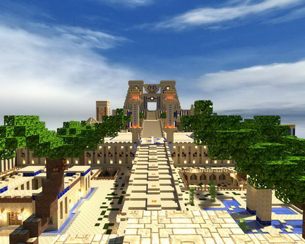 egyptian castle design 34
