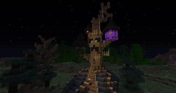 halloween town treehouse 7