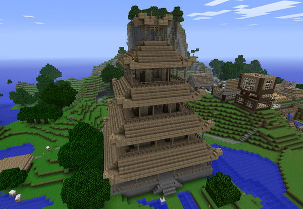 minecraft chinese palace 40